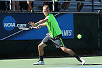 14 May 2016: Dartmouth's Ciro Riccardi. The Tulane University Green Wave played the Dartmouth College Big Green at the Cone-Kenfield Tennis Center in Chapel Hill, North Carolina in a 2015-16 NCAA Division I Men's Tennis Tournament First Round match. Tulane won the match 4-0.