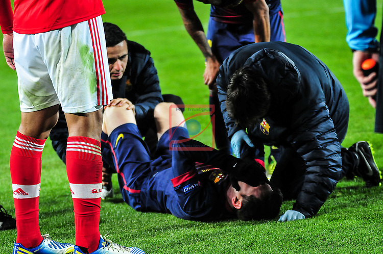 Lionel Messi. FC Barcelona vs SL Benfica: 0-0 - Champions League 2012/13-Game: 6