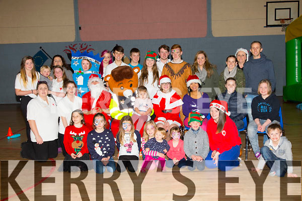 Irish Red Cross Christmas Party at Cumann Iosaef on Sunday