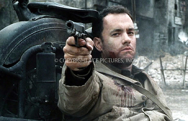 """***NO USA SYNDICATION RIGHTS***    ..World War II epic """"Saving Private Ryan"""" starring Tom Hanks and Matt Damon. Ref: TVSL0001. No reproduction rights granted or implied. All rights reserved by copyright holders. Supplied by NY Photo Press.   ....NY Photo Press:  ..phone (646) 267-6913;   ..e-mail: info@nyphotopress.com"""