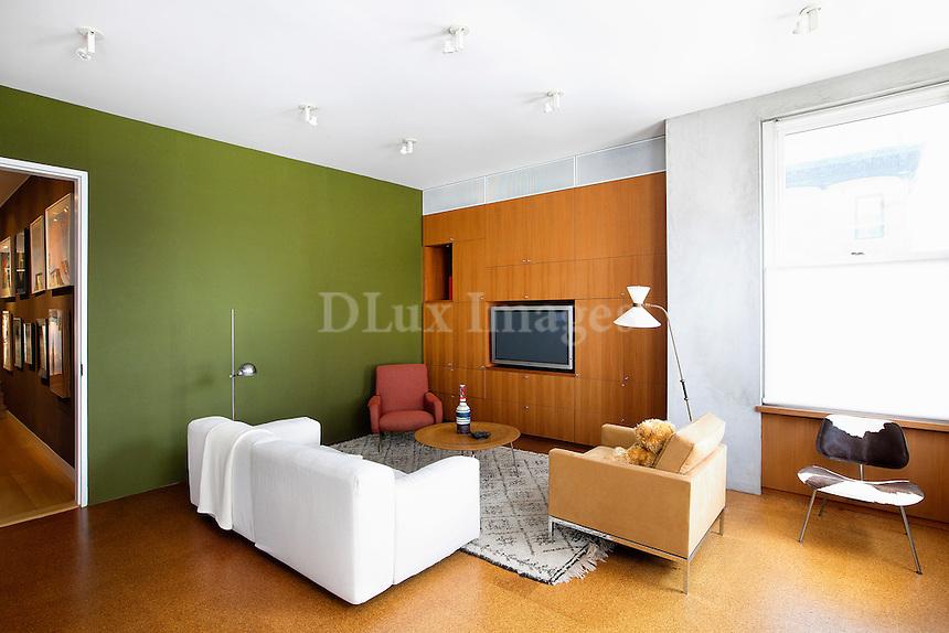 modern sitting room