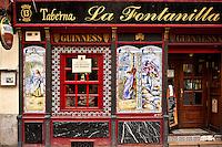 La Fontanilla taberna, Madrid, Spain