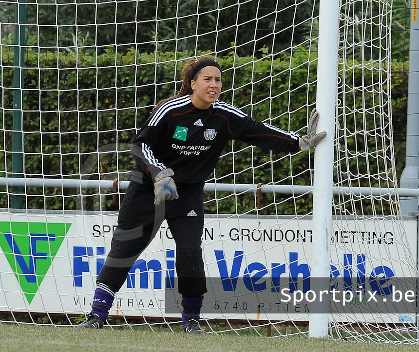 RSC Anderlecht : Morgane Passemier.foto DAVID CATRY / Vrouwenteam.be