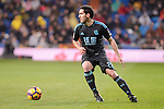 Real Sociedad's Joseba Zaldua during La Liga match between Real Madrid and Real Sociedad at Santiago Bernabeu Stadium in Madrid, Spain. January 29, 2017. (ALTERPHOTOS/BorjaB.Hojas)