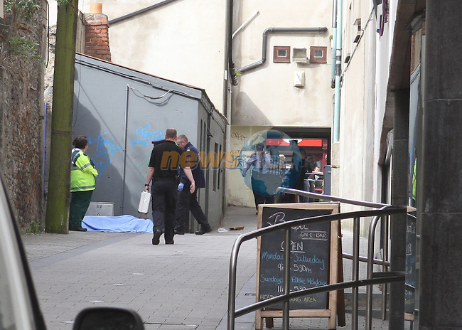 Garda Investigation into Death on Meath Market Lane.