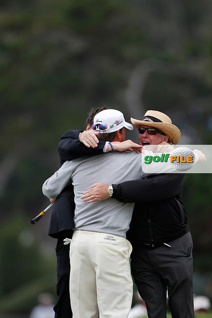 during round four US Open,Pebble Beach Golf Links, California, USA.