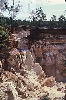 Soil erosion, Providence Canyon State Park, Georgia, USA.