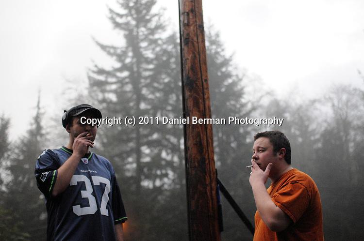 1/16/11. Photo by Bellingham photographer Daniel Berman/www.bermanphotos.com