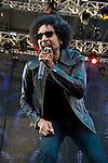 William DuVall of Alice in Chains performs during the 2013 Rock On The Range festival at Columbus Crew Stadium in Columbus, Ohio.