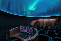 UAA's Planetarium & Visualization Theater in the ConocoPhillips Integrated Science Building celebrates ten years of operation this month.