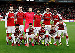 Arsenal's team group during the Europa League Group H match at The Emirates Stadium, London. Picture date: December 7th 2017. Picture credit should read: David Klein/Sportimage
