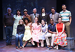 The Company during a Sneak Peak of the Irish Repertory Theatre Production of  'On A Clear Day You Can See Forever'  at the Irish Repertory Theatre on June 14, 2018 in New York City.