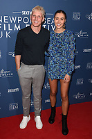 Jamie Lang and Sophie Haboo<br /> arriving for the Newport Beach Film Festival UK Honours 2020, London.<br /> <br /> ©Ash Knotek  D3551 29/01/2020