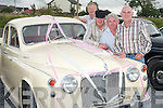 VINTAGE: Enjoying the Vintage Rally in Lixnaw.on Sunday were Tom Mason, Ballylongford,.Dave OConnell, Abbeyfeale, Frank.Mahoney, Listowel, and Michael Moloney,.Tralee.
