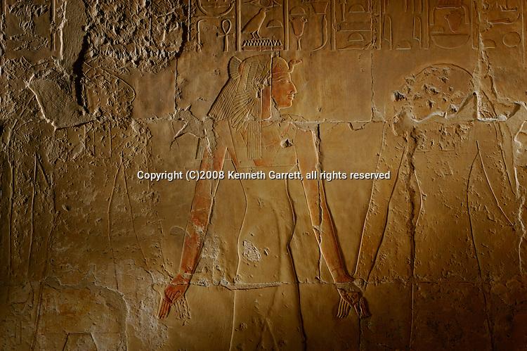 Hatshepsut, Egypt, Deir El Bahri, Divine Birth Scenes