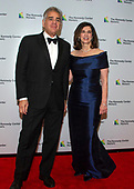 Photographer Dennis Reggie and his sister Victoria Reggie Kennedy, wife of the late United States Senator Edward M. Kennedy (Democrat of Massachusetts) arrive for the formal Artist's Dinner honoring the recipients of the 41st Annual Kennedy Center Honors hosted by United States Deputy Secretary of State John J. Sullivan at the US Department of State in Washington, D.C. on Saturday, December 1, 2018. The 2018 honorees are: singer and actress Cher; composer and pianist Philip Glass; Country music entertainer Reba McEntire; and jazz saxophonist and composer Wayne Shorter. This year, the co-creators of Hamilton, writer and actor Lin-Manuel Miranda, director Thomas Kail, choreographer Andy Blankenbuehler, and music director Alex Lacamoire will receive a unique Kennedy Center Honors as trailblazing creators of a transformative work that defies category.<br /> Credit: Ron Sachs / Pool via CNP