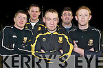 Men of Steel: Dr Crokes captain James Fleming flanked by Crokes Kerry stars, l-r, Kieran OLeary, Eoin Brosnan, Kieran Cremin and Colm Cooper, who provide the backbone to the team..
