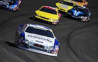 Oct. 10, 2009; Fontana, CA, USA; NASCAR Nationwide Series driver Jason Keller during the Copart 300 at Auto Club Speedway. Mandatory Credit: Mark J. Rebilas-