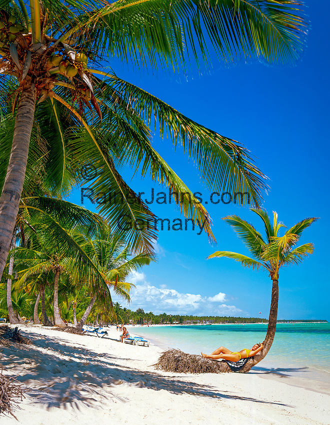 DOM, Dominikanische Republik, Punta Cana, am Bavaro Beach | DOM, Dominican Republic, Punta Cana, at Bavaro Beach