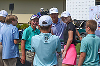 Thorbjorn Olesen (DEN) signs autographs following round 3 of the WGC FedEx St. Jude Invitational, TPC Southwind, Memphis, Tennessee, USA. 7/27/2019.<br /> Picture Ken Murray / Golffile.ie<br /> <br /> All photo usage must carry mandatory copyright credit (© Golffile | Ken Murray)