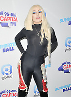 Ava Max at the Capital FM Summertime Ball 2019, Wembley Stadium, Wembley, London, England, UK, on Saturday 08th June 2019.<br /> CAP/CAN<br /> ©CAN/Capital Pictures