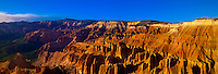 Panoramic view of the amphitheater, Cedar Breaks National Monument, near Cedar City, Utah USA.