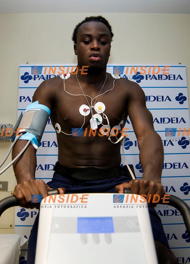 Belgium defender Jordan Lukaku during medical visit at Paideia Clinic in Roma . Jordan Lukaku signs today for SS Lazio <br /> Roma 22-07-2016 <br /> Foto Andrea Staccioli / Fotonotizia / Insidefoto