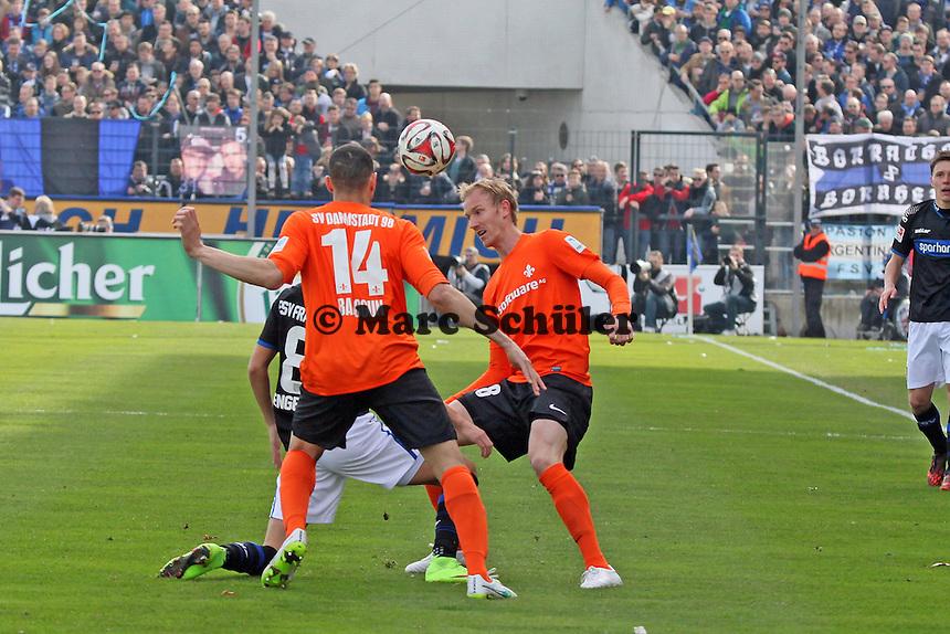 Jan Rosenthal (SV98) - FSV Frankfurt vs. SV Darmstadt 98, Frankfurter Volksbank Stadion