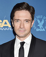 HOLLYWOOD, CA - FEBRUARY 02: Topher Grace attends the 71st Annual Directors Guild Of America Awards at The Ray Dolby Ballroom at Hollywood &amp; Highland Center on February 02, 2019 in Hollywood, California.<br /> CAP/ROT/TM<br /> &copy;TM/ROT/Capital Pictures