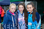 at the SPA National School Donal Walsh 6K Walk/Run Challenge on Sunday were Emma Dewey, Suna Crowe, Meena Tyrrell