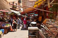 Palermo food market, Sicily