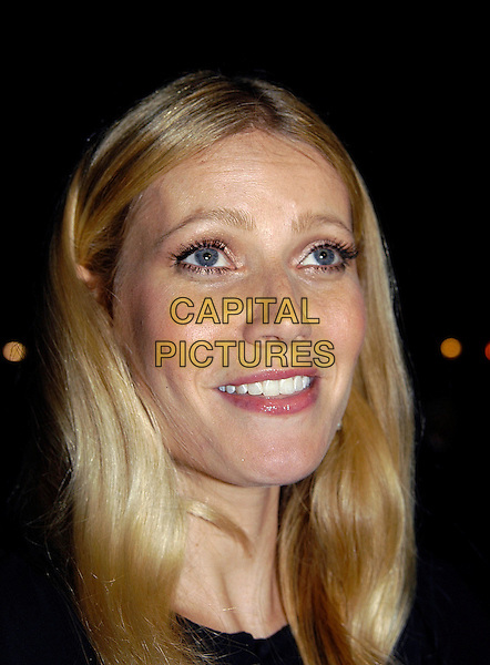 """GWYNETH PALTROW                    .The Times BFI London Film Festival: """"Proof"""" - screening at Odeon West End, WC2, London, UK..October 22nd, 2005.Ref: IA.headshot portrait .www.capitalpictures.com.sales@capitalpictures.com.©Capital Pictures"""
