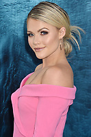 HOLLYWOOD, CA - AUGUST 06: Witney Carson attends the premiere of Warner Bros. Pictures and Gravity Pictures' Premiere of 'The Meg' at the TLC Chinese Theatre on August 06, 2018 in Hollywood, California.<br /> CAP/ROT/TM<br /> &copy;TM/ROT/Capital Pictures