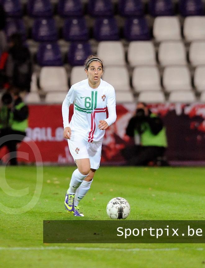 Belgian Red Flames - Portugal (31/10/2013) :<br /> Regina Pereira<br /> foto Dirk Vuylsteke / Nikonpro.be