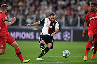 Gonzalo Higuain of Juventus <br /> Torino 01/10/2019 Juventus Stadium <br /> Football Champions League 2019//2020 <br /> Group Stage Group D <br /> Juventus - Leverkusen <br /> Photo Andrea Staccioli / Insidefoto
