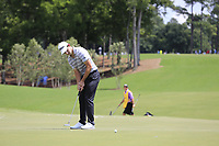 Patrick Cantlay (USA) putts on the 1st green during Saturday's Round 3 of the 2017 PGA Championship held at Quail Hollow Golf Club, Charlotte, North Carolina, USA. 12th August 2017.<br /> Picture: Eoin Clarke | Golffile<br /> <br /> <br /> All photos usage must carry mandatory copyright credit (&copy; Golffile | Eoin Clarke)