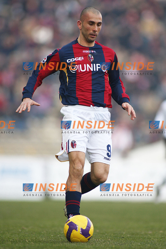 Bologna's Marco Di Vaio during their italian serie A soccer match at Dall'Ara Stadium in Bologna , Italy , February 21 , 2009 - Photo: Prater/Insidefoto ©