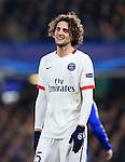 PSG's Adrien Robiot in action<br /> <br /> - UEFA Champions League - Chelsea vs Paris Saint Germain - Stamford Bridge - London - England - 9th March 2016 - Pic David Klein/Sportimage