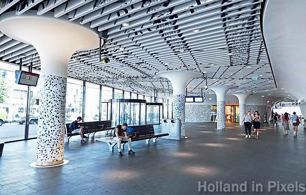 Nederland Delft - 2018. Station Delft.   Foto Berlinda van Dam / Hollandse Hoogte