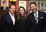 Rob Ashford, Jessica Molaskey and John Pizzarelli during the Rob Ashford portrait unveiling for the Sardi's Wall of Fame on October 10, 2018 at Sardi's Restaurant in New York City.