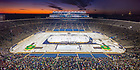 January 5, 2019: The Notre Dame hockey team played in ND Stadium. (Photo by Matt Cashore/University of Notre Dame)