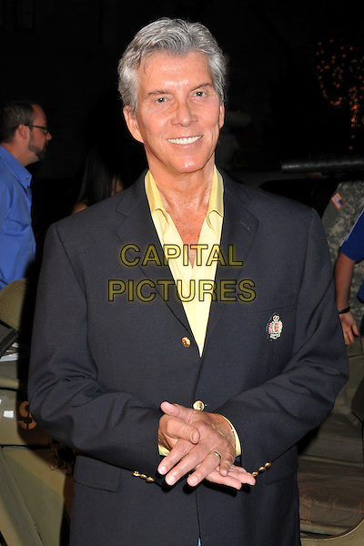 MICHAEL BUFFER.Stars and Stripes: An Evening of Sexy Patriotism Benefiting the Wounded Warrior Project held at the Playboy Mansion, Beverly Hills, CA, USA..may 16th, 2009.half length black blue suit jacket .CAP/ADM/BP.©Byron Purvis/AdMedia/Capital Pictures.