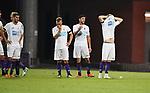 2018-07-27 / Voetbal / Seizoen 2018-2019 / Beerschot-Wilrijk - Aris Thessaloniki / Teleurstelling bij Beerschot-Wilrijk na de nederlaag <br /> <br /> ,Foto: Mpics