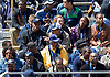 April 21, 2012:  Former NBA star David Robinson takes in the action during the Blue-Gold Spring game at Notre Dame Stadium in South Bend, Indiana.  The Defense topped the Offense by a score of 42-31.