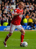 Nottingham Forest's midfielder Ben Watson (32) during the Sky Bet Championship match between Nottingham Forest and Derby County at the City Ground, Nottingham, England on 10 March 2018. Photo by Stephen Buckley / PRiME Media Images.