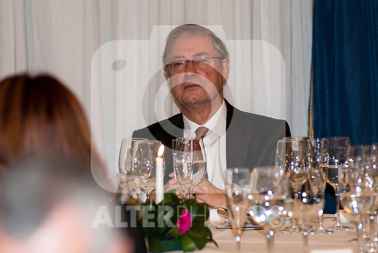 "Journalist Felix Arzua attend the delivery of the XXXII edition of the journalism award "" Francisco Cerecedo "" D. Felix Arzua at Ritz Hotel in Madrid, November 25, 2015<br /> (ALTERPHOTOS/BorjaB.Hojas)"