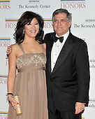 Washington, DC - December 5, 2009 -- Julie Chen and Les Moonves arrive for the formal Artist's Dinner at the United States Department of State in Washington, D.C. on Saturday, December 5, 2009..Credit: Ron Sachs / CNP.(RESTRICTION: NO New York or New Jersey Newspapers or newspapers within a 75 mile radius of New York City)