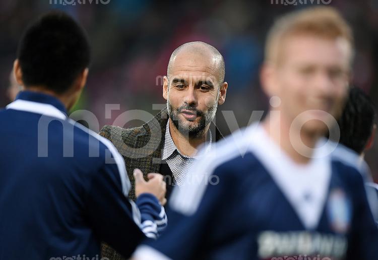 FUSSBALL  1. Bundesliga   2014/2014   Testspiel  FC Bayern Muenchen - Paulaner Traumelf     06.10.2014 Trainer Pep Guardiola (FC Bayern Muenchen)
