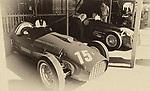 CHICHESTER, ENGLAND - SEPTEMBER 11: 1950's Ferrari's in the Paddock  at Goodwood on September 11, 2016 in Chichester, England.   (Photo by Leo Mason-Split Second/Corbis via Getty Images)