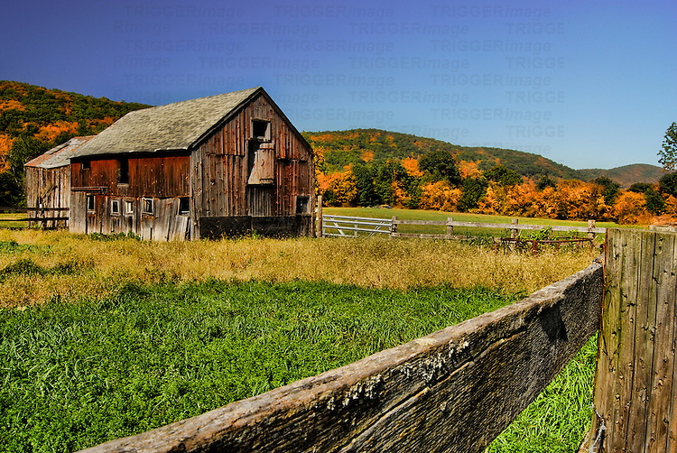 Old barn in Kent, Connecticut